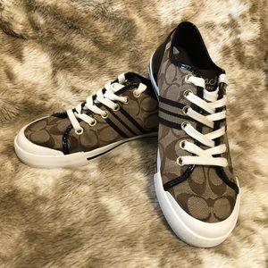 EUC Coach tennis shoes